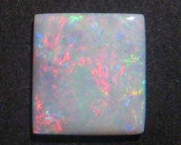 2.5ct Multicolour Australian Coober Pedy Opal Solid