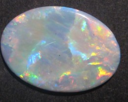 3.5ct Australian Crystal Coober Pedy Opal Solid, 20x14mm