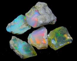 20.29Cts Ethiopian Welo Rough Opal Parcel Lot