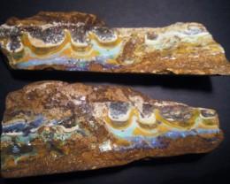 3110.3ct Stunning Australian Queensland Boulder Opal Split Specimen