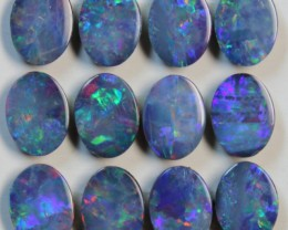 9.40 CTS  -  12 PIECES OPAL DOUBLE PARCEL CALABRATED D842