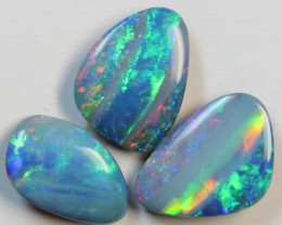 10.01 CTS 3 PIECES OPAL SKIN SHELL DOUBLET PARCEL D867
