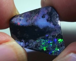 9.15 ct Beautiful Blue Green Natural Queensland Boulder Opal