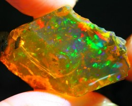 34Ct ContraLuz Ethiopian Welo Rough Specimen Rough Opal