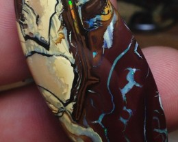 73.5cts Koroit Boulder Opal Picture Stone AC999