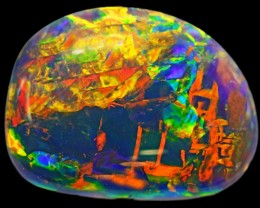 7.25 CTS BLACK  OPAL - LIGHTNING RIDGE- [SO7863]