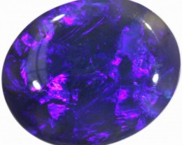 2.75 CTS BLACK  OPAL - LIGHTNING RIDGE- [SO7870]WB