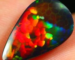 3.79Ct Nice Color Smoked Ethiopian Welo Solid Opal
