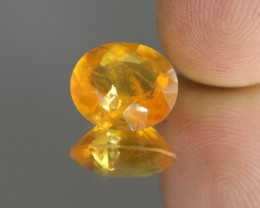 4.90cts Madagascar Fire Opal Faceted Oval Cut