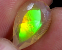 1.55 CRT FACATED CLEAR CRYTALY OPAL #