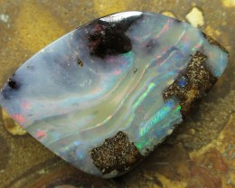 "46cts.""BOULDER OPAL~MINER DIRECT QUALITY"""