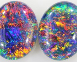 4.4 CTS A GRADE PAIR STUNNING TRIPLET OPAL [SO7897]