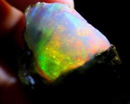 134Ct ContraLuz Ethiopian Welo Rough Specimen Rough Opal