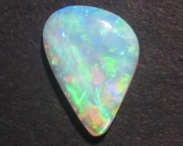 Beautiful Australian Andamooka Crystal Opal Solid, brilliant greens