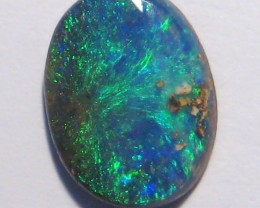 1.62ct Bright Australian Queensland Boulder Opal Solid