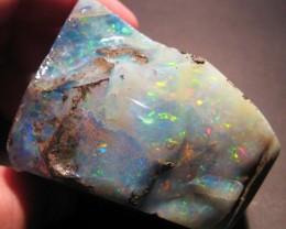 Magnificent Multicolour Large Australian Queensland Boulder Opal Specimen
