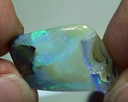 15.90 ct Boulder Opal Natural Beautiful Blue Green