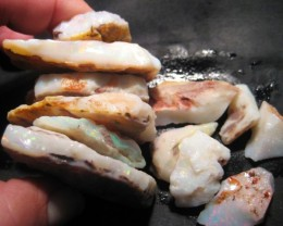 Parcel of Australian Coober Pedy White Base Rough  Opal