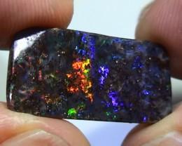9.10 ct Gem Multi Color Natural Queensland Boulder Opal