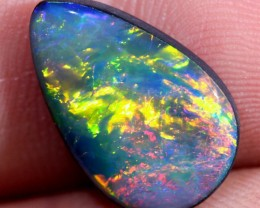 3.15ct Multicolor Gem Opal Doublet