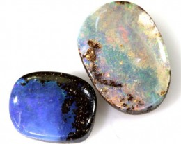 9 CTS  3PC BOULDER OPAL POLISHED STONE  ADO-4313