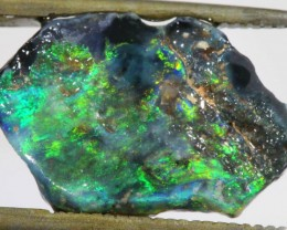 2.6 CTS NEON BRIGHT BLACK OPAL RUB [BR5043]