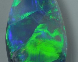 Solid Dark  Opal (170) from Lightning Rodge,5.3 ct