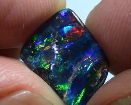 2.45 ct Full Electric Gem Color Queensland Boulder Opal