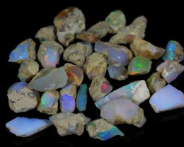 148.95Cts Ethiopian Welo Rough Opal Parcel Lot