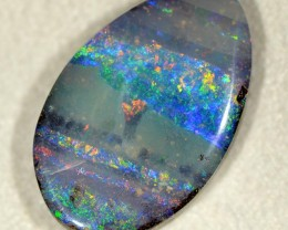 15.12cts Boulder Opal - Winton - Bright Face (R2692)