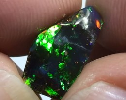 3.25 ct Full Electric Gem Color Queensland Boulder Opal