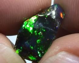 3.25 ct Full Electric Gem Color Queensland Boulder Opal
