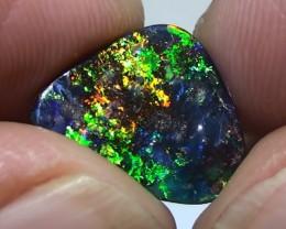 4.65 ct Gem Bright Full Rainbow Queensland Boulder Opal