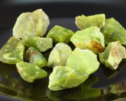 272.6ct Rough Green Madagascar Opal 13-PCS Big Parcel Lot