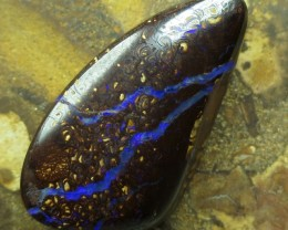 """52cts.""""BOULDER MATRIX OPAL~FROM OUR MINES"""""""