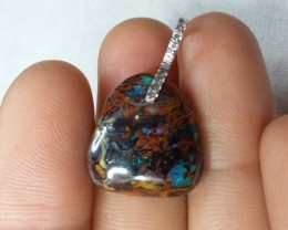 20.10 CT VIDEO VIEW KOROIT BOULDER OPAL   SS0474