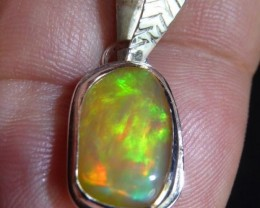 Sterling .925 Silver and Solid Wello Opal High Quality Handmade Ring