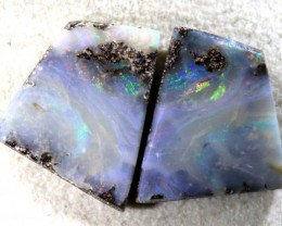 15.55 CTS BOULDER OPAL PAIRS STONE NC-4629