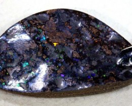 49 CTS BOULDER OPAL STERLING SILVER PENDANT OF-1781