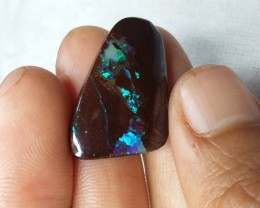 22.35 CT VIDEO VIEW  KOROIT BOULDER OPAL   SS0505