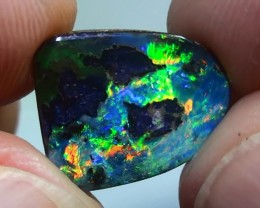 5.55 ct Gem Bright Rainbow Color Natural Queensland Boulder Opal