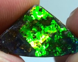 4.70 ct Stunning Natural Dark Base Queensland Boulder Opal