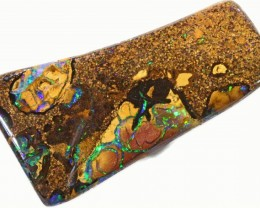 48.9 cts Well polished Koroit Boulder opal BU2660