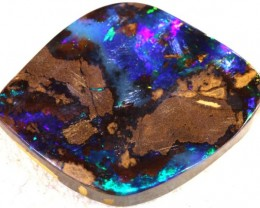 18.8 CTS QUALITY  BOULDER OPAL POLISHED STONE INV-500  GC