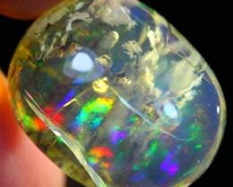 27.24Ct Pretty Inclusion Ethiopian Welo Polished Specimen Opal