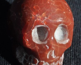 140ct Skull Mexican Matrix Opal