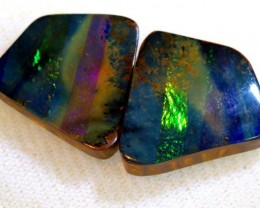 22.75 CTS QUALITY  BOULDER OPAL POLISHED STONE INV-520  GC