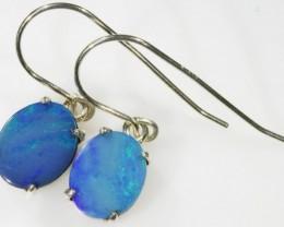 Modern design Opal Doublet Sheppard hook  Earring SB 411