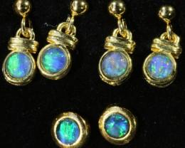 Triplet Opal Earring Set SB 428