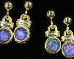 tqoTriplet Opal Earring Set SB 429